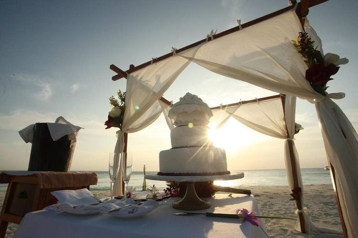 Furaveri Island Resort & Spa - outdoor wedding setting