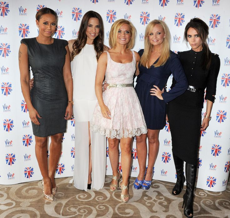 At the Launch of Viva Forever - The Spice Girls Musical is opening at the Piccadilly Theatre in 2012. The photo is of Melanie C, Emma Bunton, Victoria Beckham, Geri Halliwell and Mel B    Tickets and More Information available here:   http://www.hitthetheatre.co.uk/Viva_Forever_The_Musical_Piccadilly_Theatre.php