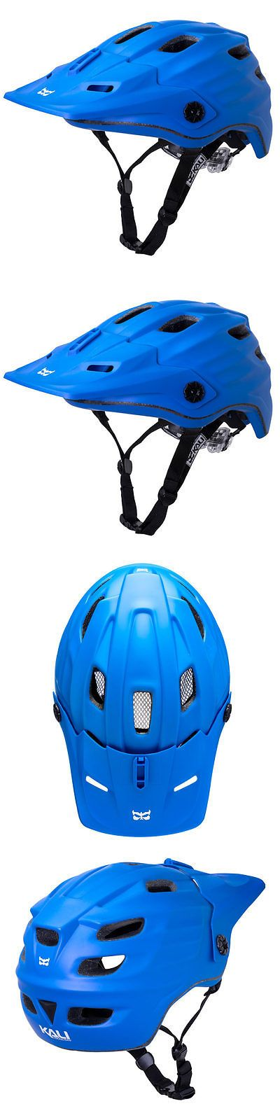 Helmets 70911: Kali Protectives Maya Helmet Large X-Large Solid Matte Blue -> BUY IT NOW ONLY: $68.1 on eBay!