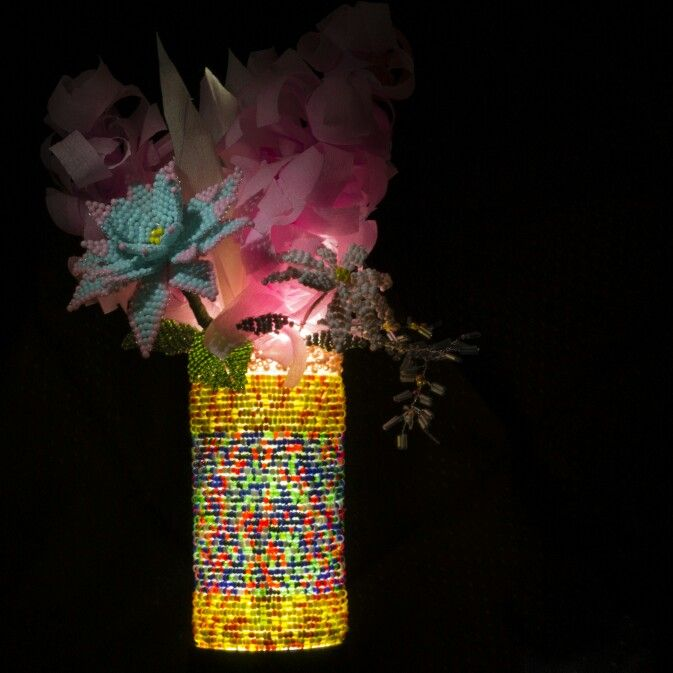 Ваза для невысоких цветов высота 14 см, диаметр 6,5 см