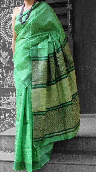 Elegant & Fine Tussar Silk Saree