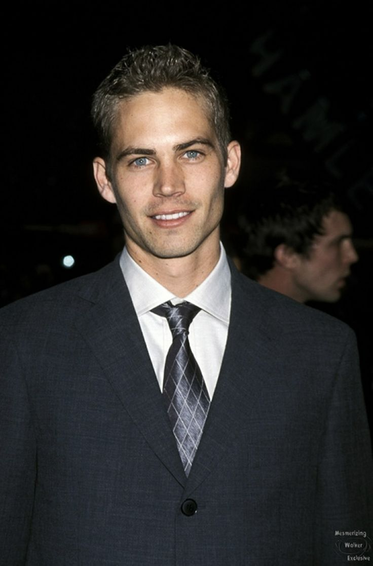 Young Paul Walker...