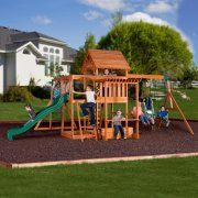 Best wooden swing sets for small yards