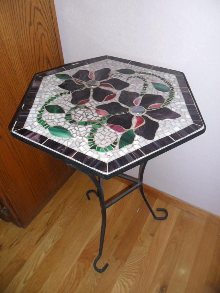 how to make mosaic furniture