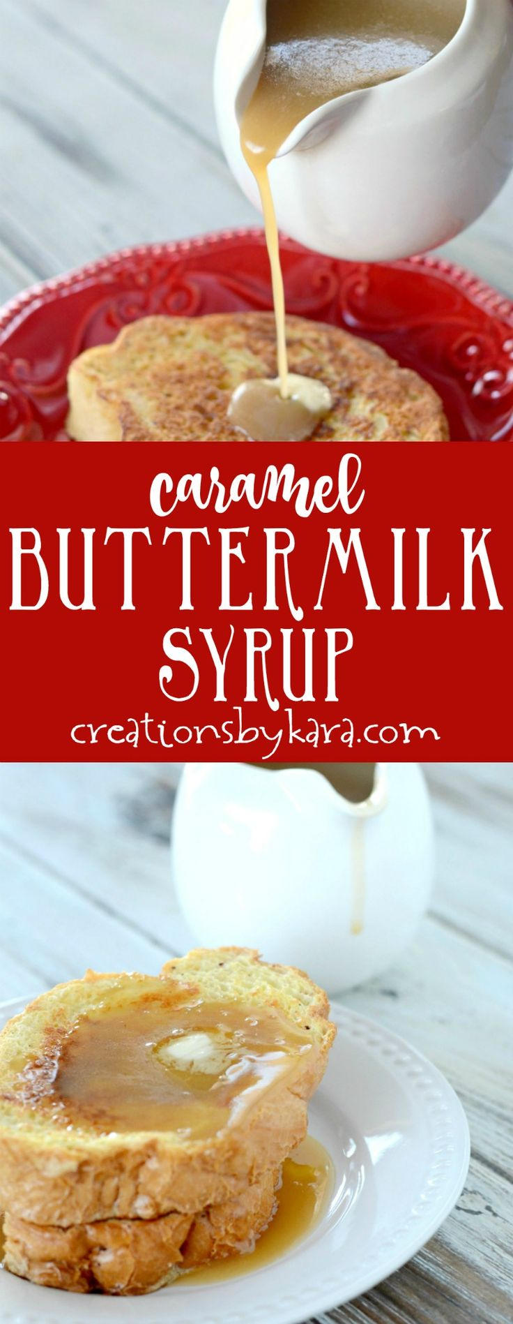 Epic Caramel Buttermilk Syrup - this syrup is outstanding! Serve it over French toast, pancakes, or waffles for an amazing breakfast. #syrup #breakfast #buttermilksyrup