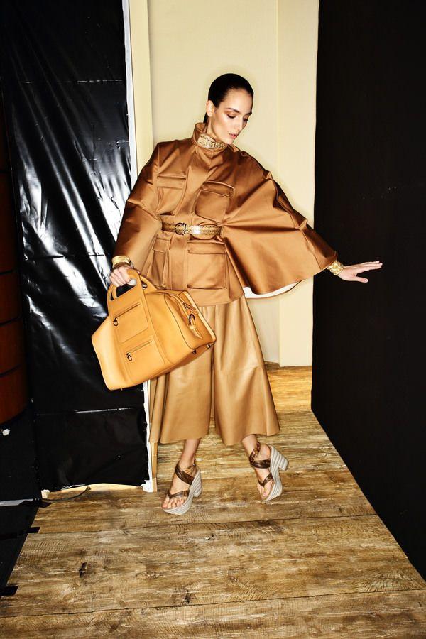 Salvatore Ferragamo Fashion show backstage > http://sonnyphotos.com/2014/09/salvatore-ferragamo-ss15-fashion-show-milan-backstage