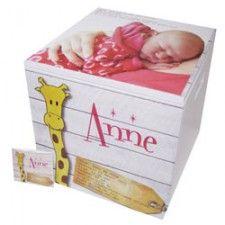 #Kraamcadeau van hout: memory box van herinneringshout.nl | Babystuf