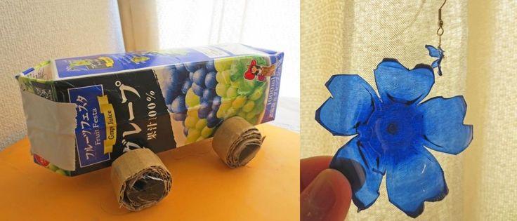 'Upcycling': moda en auge en Japón que consiste en reciclar 'basura' para convertirla en juguetes u objetos decorativos.