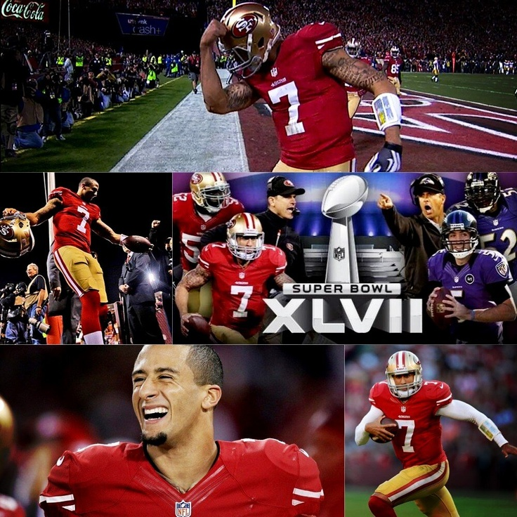 49er Nation SF Niners San Francisco 49ERS Niners for Life! Super Bowl XLVII collage