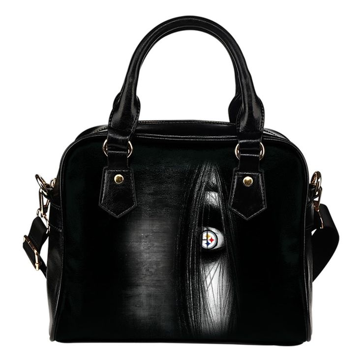 The Grudge Movie Pittsburgh Steelers Shoulder Handbags – Best Funny Store