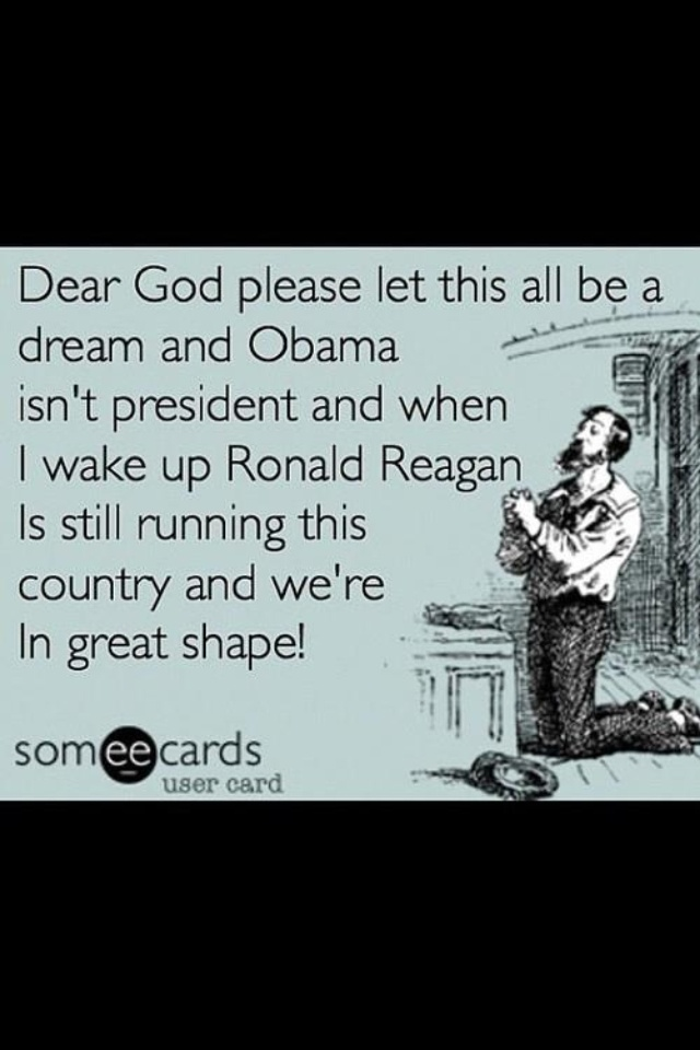 We need Ronald Reagan