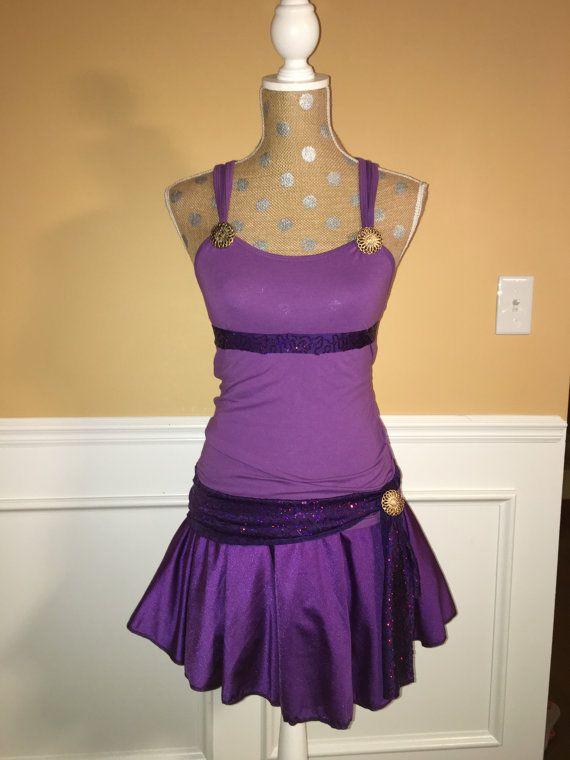 Megara Inspired purple Running por Fit4aPrincessShop en Etsy