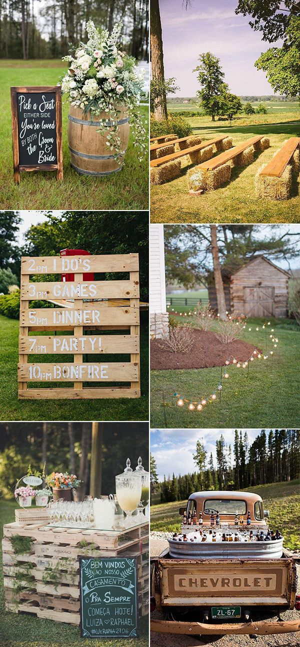 20 Budget Friendly Country Wedding Ideas From Pinterest Emmalovesweddings Rustic Country Wedding Summer Wedding Decorations Country Wedding