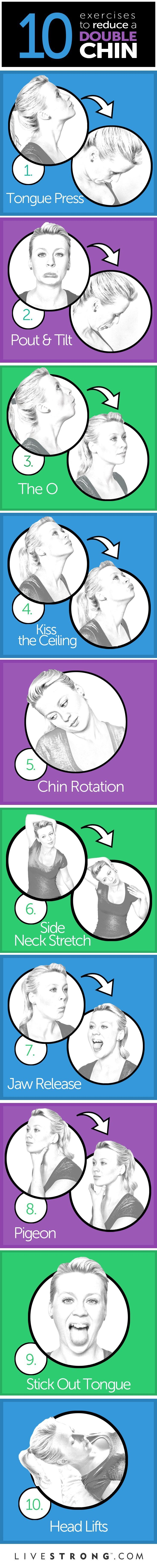 Chin exercises- just don't do them at a red light