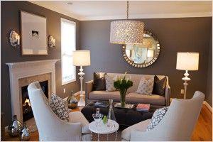 Зеркальная стена в гостиной: преимущества, расположение, освещение, инструкция по установке, необходимость
