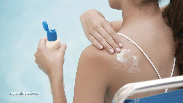 Toxic sunscreens don't fight cancer - they cause it...