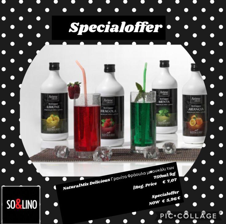 Granita Specialoffer - Order now online http://www.solino.gr/naturalmix/109/285/granitas/granitas-in-syrup/solino-750ml-kg-1-detail.html