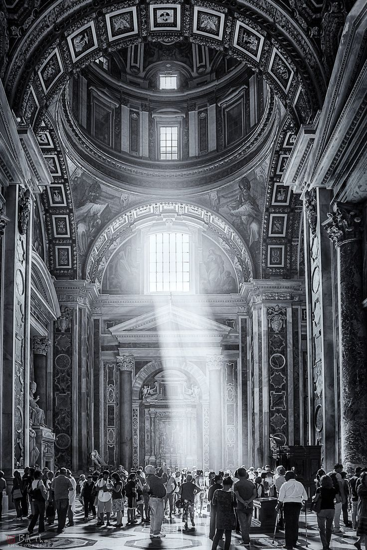 https://flic.kr/p/JyTmiD | Light. | St Peters Basilica, Vatican, Rome, Italy, October 2011.