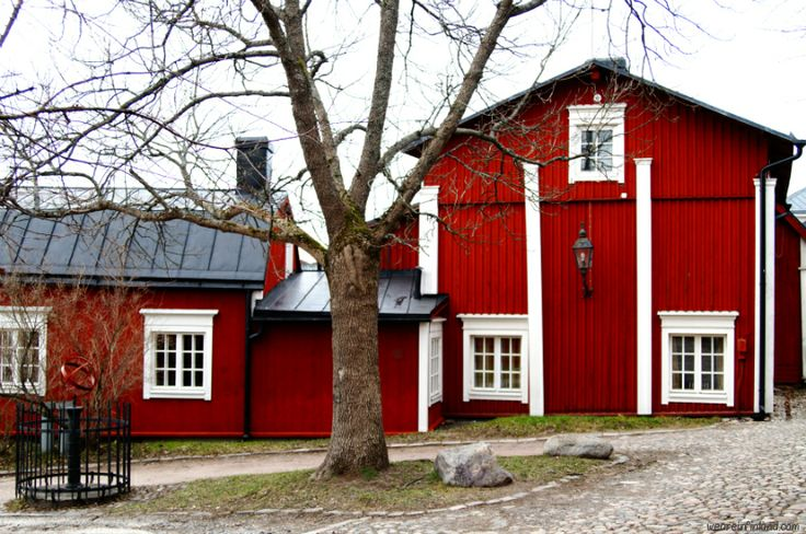 Old Town in Porvoo / Borgå, Finland