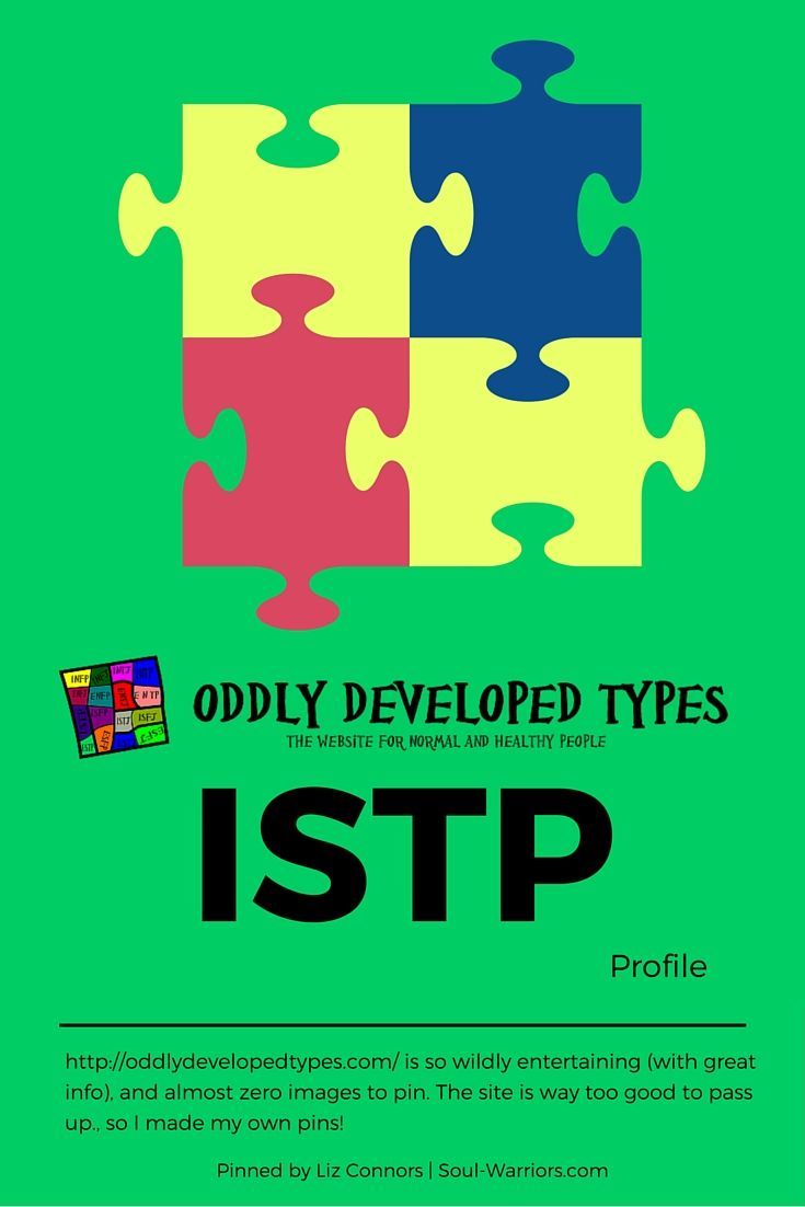 istp type Istp personality types are highly logical, independent, and practical discover more about the common traits istps share.