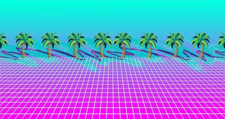 Pubg Wallpaper Ipad Mini: Calm Palm Vaporwave [2048x1080]. Wallpaper/ Background For