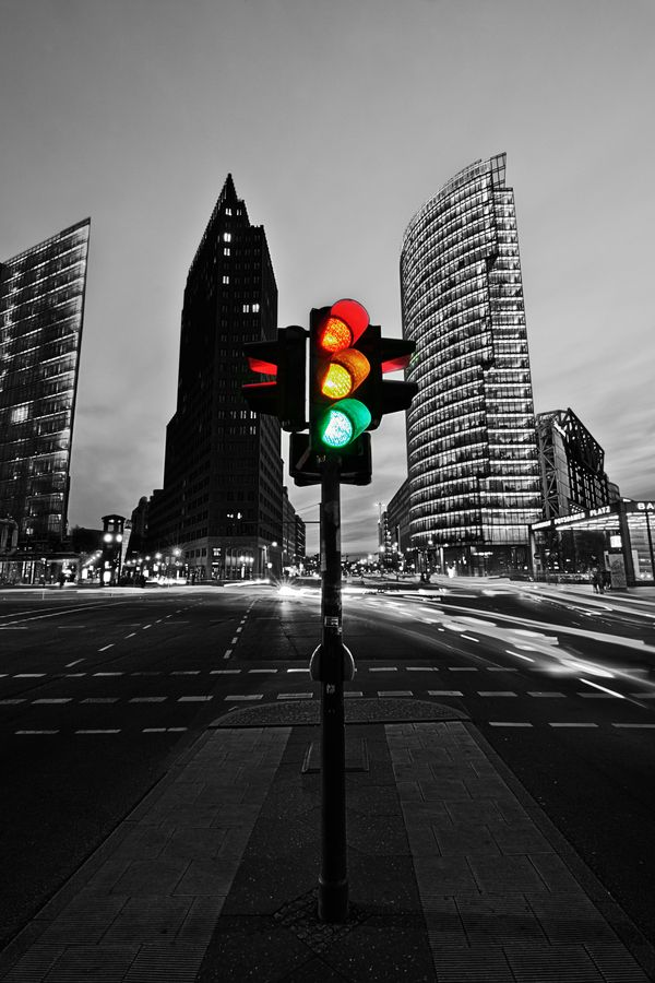Veo semáforos todo el tiempo.