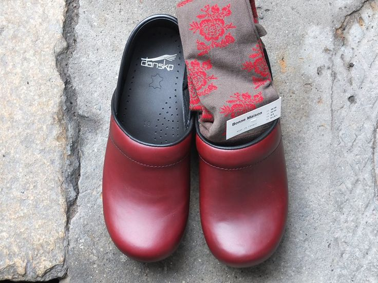 Our beautiful DANSKO CLOGS with BONNE MAISON stocking www.bagnipaloma.it