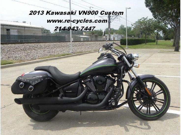 Browse Used ‪#‎Kawasaki‬ 2013 Vn900 ‪#‎Cruiser_Motorcycle‬ available for sale by Re-Cycle Sales for $ 6195 in Dallas, TX, USA. This is really nice 2013 Vulcan Custom 900. 2,750 miles. Bad to the bone. Excellent condition in every respect. Agile and powerful. Fuel injected, water cooled, and belt driven. Clean clear title on all of our bikes. If you wnat see more information about this bike, then click to log on at: http://goo.gl/t6R05i