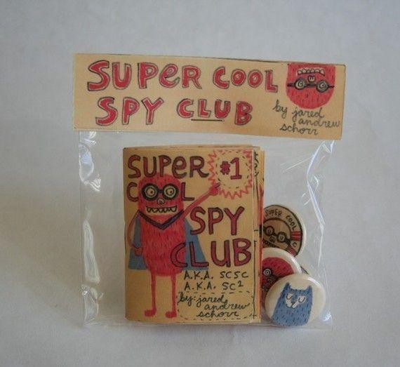 Super Cool Spy Club No 1 with buttons par supercoolspyclub sur Etsy