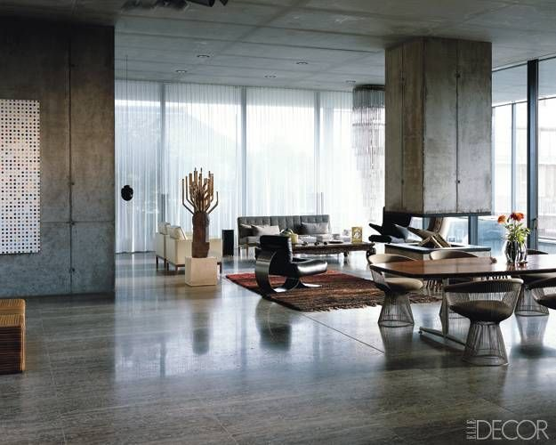 Christian Boros and Karen Lohmann's Berlin Apartment - ELLE DECOR