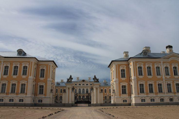 Fotografía: Cristina y Justo- Palacio de Rundale-Letonia
