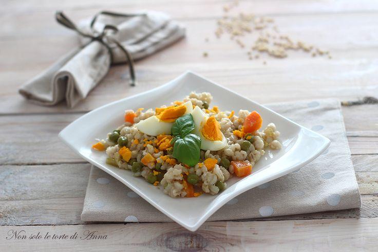 Orzo+piselli+e+carote