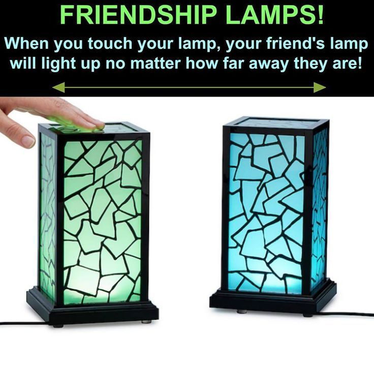 Friendship Lamps When You Touch The Lamp Your Friend S Lamp Will Light Up No Matter How Diy Gifts For Friends Birthday Gifts For Bestfriends Friendship Lamps