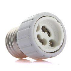 E27 to GU10 LED Light Lamp Bulbs Adapter Converter