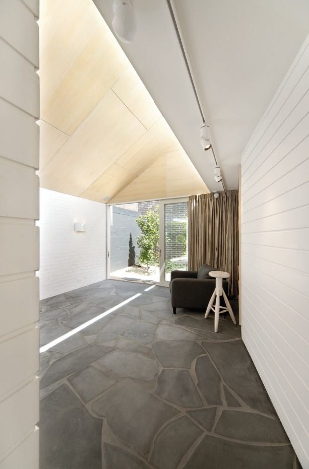Kennedy Nolan's Fitzroy house features a series of courtyards.