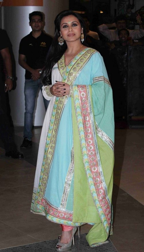 Fashion: Bollywood Celebrities in Anarkali Suits 2013