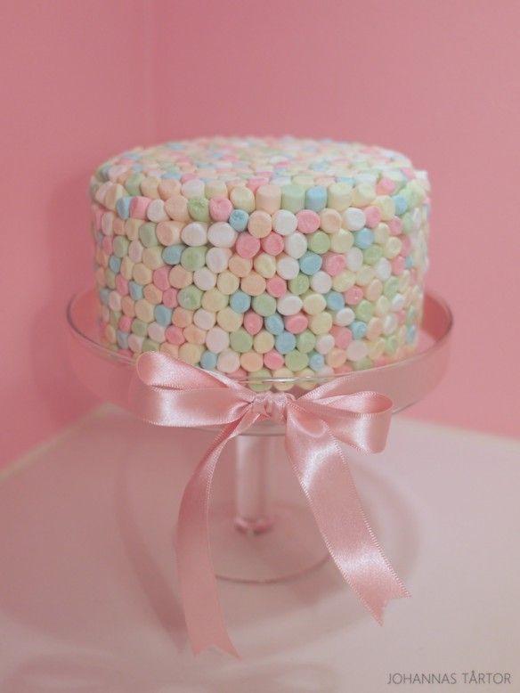 Marshmallowstårta