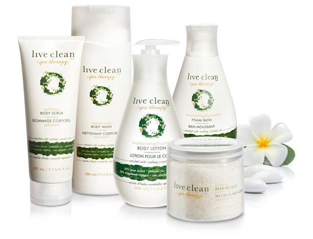 Health and Beauty Girl : Live Clean 5 Piece Spa Therapy Prize Pack | #Givea...