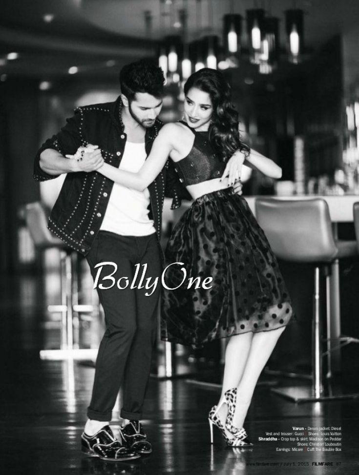 Varun Dhawan and Shraddha Hot & Steamy Scans From Filmfare Magazine June 2015
