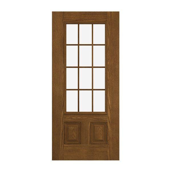 Prehung Exterior Design Pro 2 Panel 12 Lite Door Exterior Design Prehung Doors Exterior Doors
