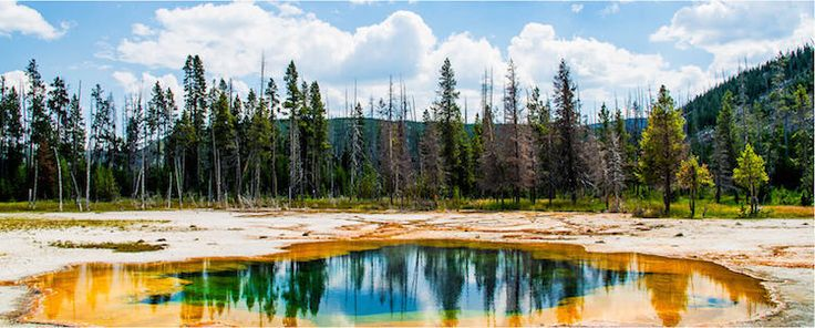 A list of the best National Parks with a guide to the can't-miss attractions, activities, and where to stay/camp/favorite hotels. Pictured here: Yellowstone.