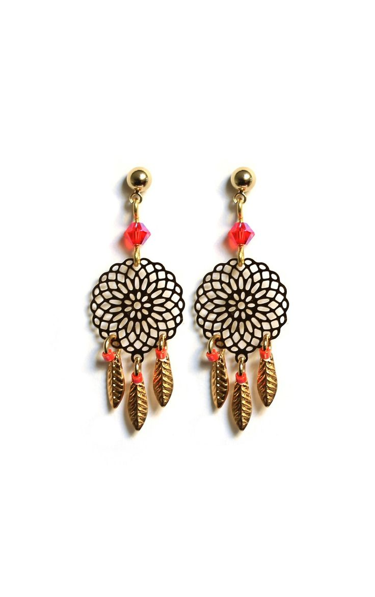Boucles Dreamy Corail via Rubambelle. Click on the image to see more!