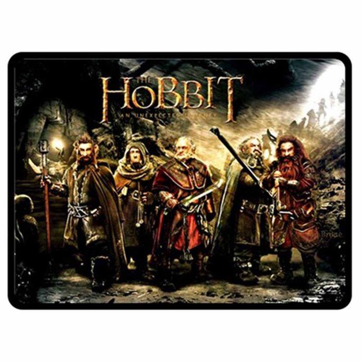 Hobbit Movies Printed Photo Bed Throw Fleece Blanket