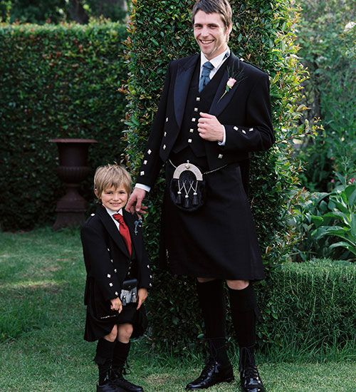 Don't Forget the little ones and make sure they are kilted for the big day