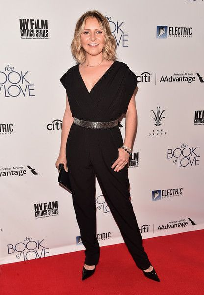 "Beverley Mitchell Photos Photos - Actress Beverly Mitchell attends the premiere of Electric Entertainment's ""The Book Of Love"" at The Grove on January 10, 2017 in Los Angeles, California. - Premiere of Electric Entertainment's 'The Book of Love' - Arrivals"