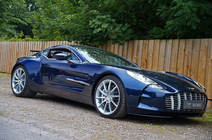 Aston Martin One-77-not favorite of the Aston Martin's, but still a RIDICULOUS car