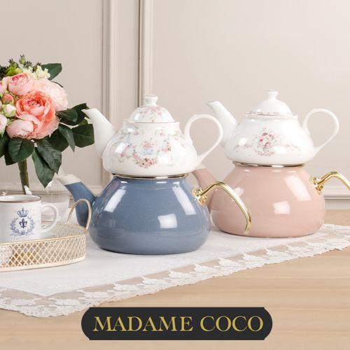 Bone China Porselen demlikli çaydanlıklar 200TL yerine 59.9 TL mağazalarda ve www.madamecoco.com'da ! Kaçırmayın!