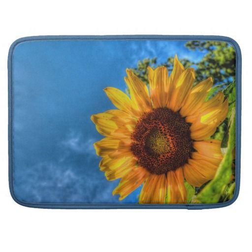 Sunflower Sleeves For MacBook Pro