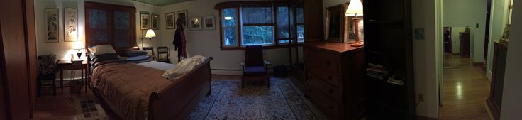 The bedroom as it is now.