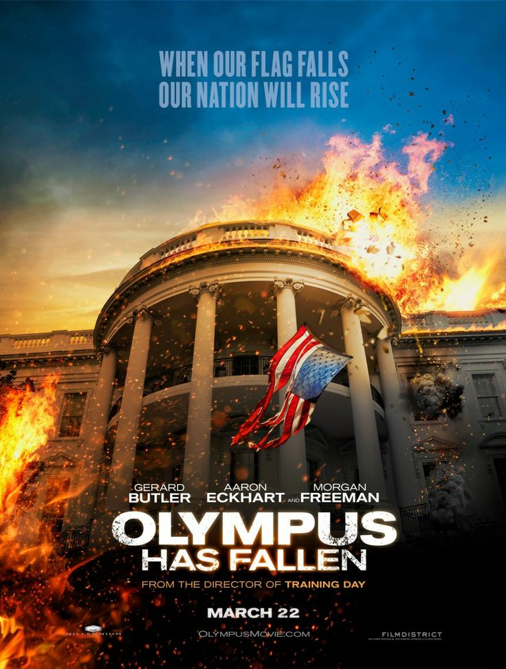 Olympus Has Fallen... excited for this movie!